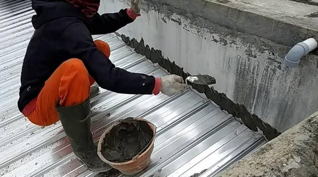 perbaikan atap bocor makassar